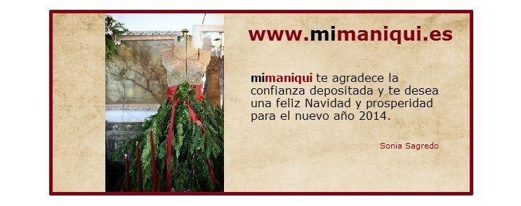 Felicitación de Navidad castellano