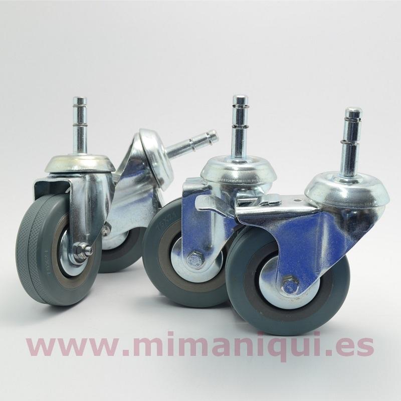 Pack ruedas para perchero