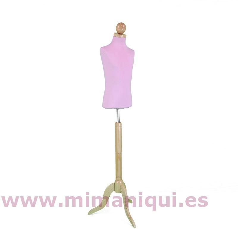 Busto rosa 8 años tripode bola natural