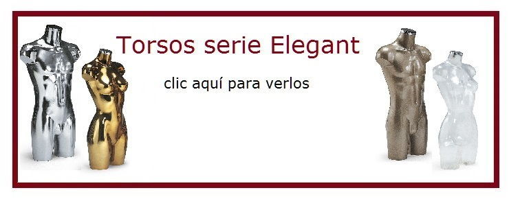 Torsos serie Elégant - Castellano