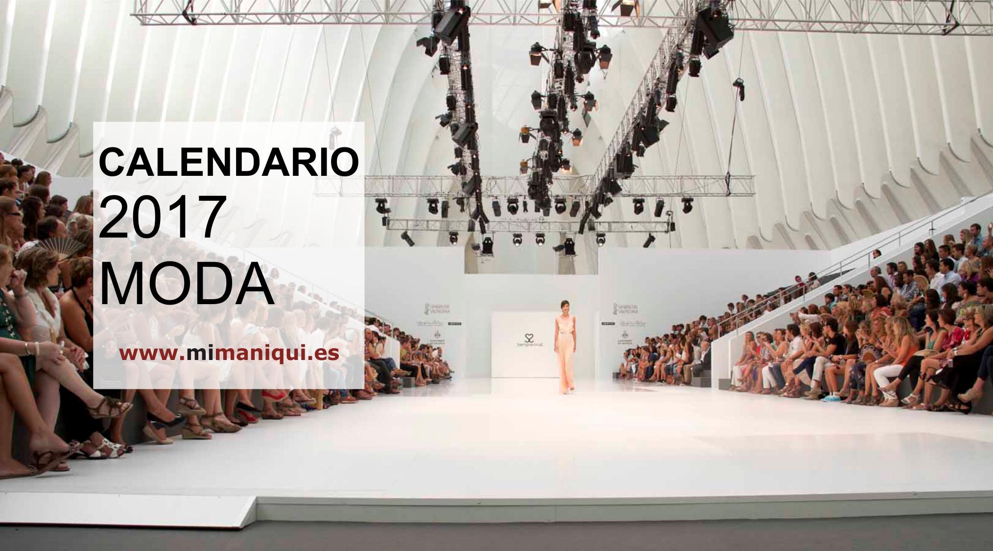 CALENDARIO MODA