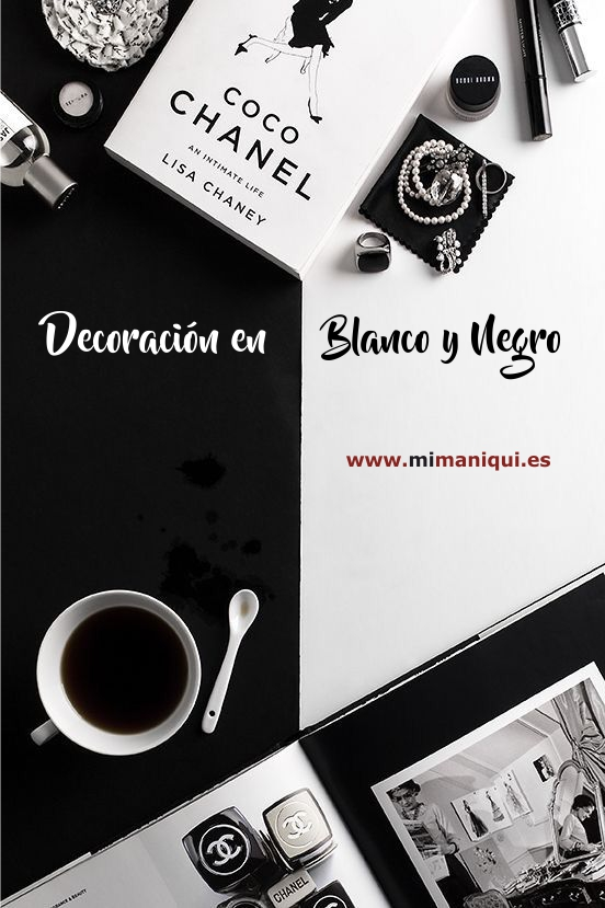 decoracion blanco y negro